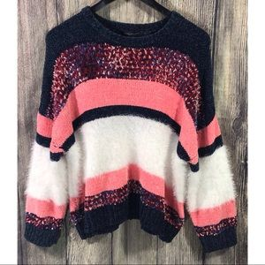 Marc New York Andrew Marc Soft Striped Sweater
